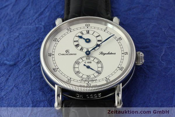 Used luxury watch Chronoswiss Regulateur steel automatic Kal. 122 Ref. CH1223  | 150299 17