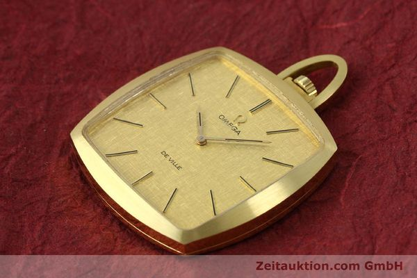 Used luxury watch Omega De Ville 18 ct gold manual winding Kal. 620  | 150302 01