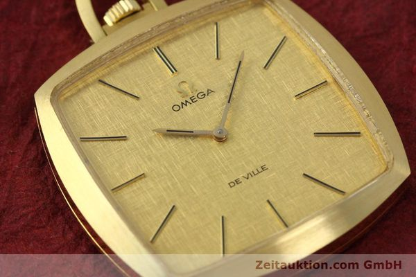Used luxury watch Omega De Ville 18 ct gold manual winding Kal. 620  | 150302 02