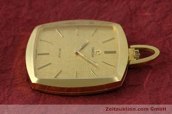Used luxury watch Omega De Ville 18 ct gold manual winding Kal. 620  | 150302 03
