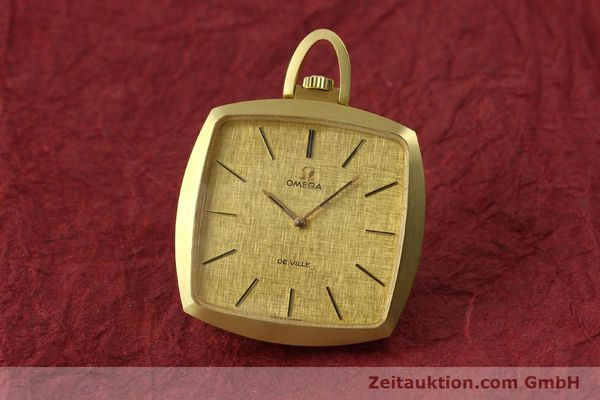 Used luxury watch Omega De Ville 18 ct gold manual winding Kal. 620  | 150302 04