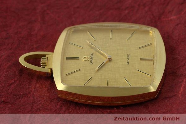 Used luxury watch Omega De Ville 18 ct gold manual winding Kal. 620  | 150302 05