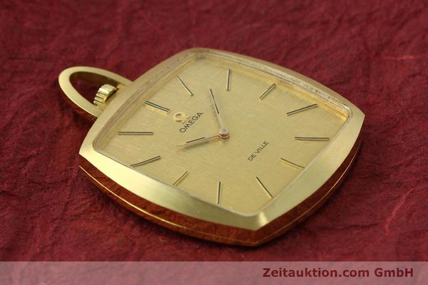 Used luxury watch Omega De Ville 18 ct gold manual winding Kal. 620  | 150302 13