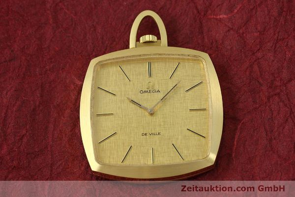 Used luxury watch Omega De Ville 18 ct gold manual winding Kal. 620  | 150302 14