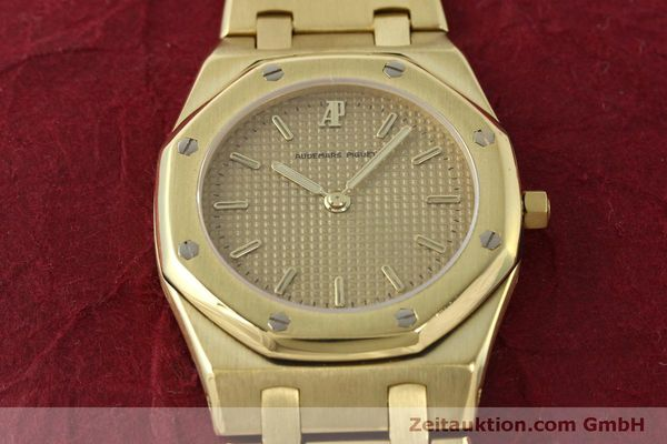 Used luxury watch Audemars Piguet Royal Oak 18 ct gold quartz Kal. 2508 Ref. B59711  | 150306 01