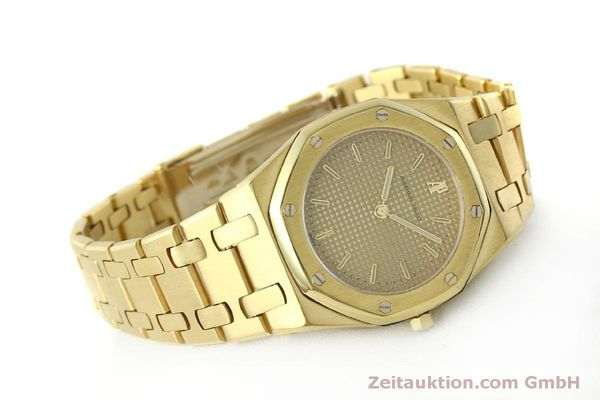 Used luxury watch Audemars Piguet Royal Oak 18 ct gold quartz Kal. 2508 Ref. B59711  | 150306 03