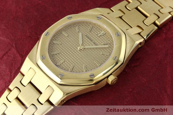 gebrauchte Luxusuhr Audemars Piguet Royal Oak 18k Gold Quarz Kal. 2508 Ref. B59711  | 150306 04
