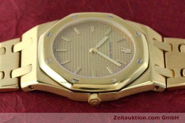 Used luxury watch Audemars Piguet Royal Oak 18 ct gold quartz Kal. 2508 Ref. B59711  | 150306 05