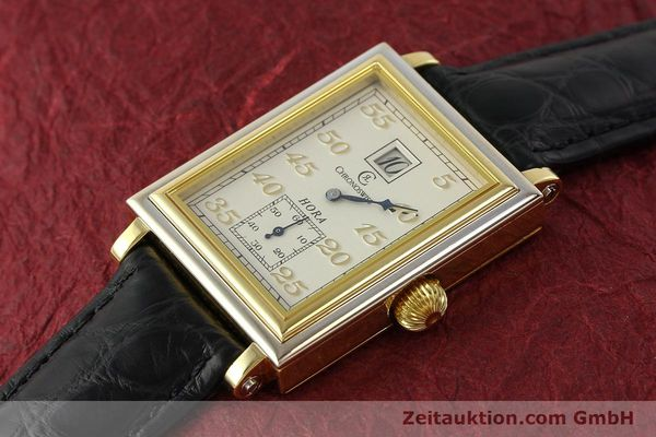 Used luxury watch Chronoswiss Hora 18 ct gold manual winding Ref. CH1351  | 150308 01