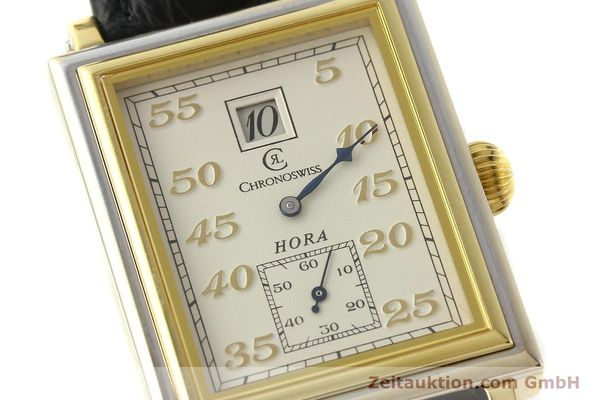 Used luxury watch Chronoswiss Hora 18 ct gold manual winding Ref. CH1351  | 150308 02