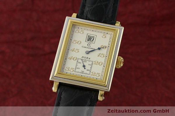 Used luxury watch Chronoswiss Hora 18 ct gold manual winding Ref. CH1351  | 150308 04