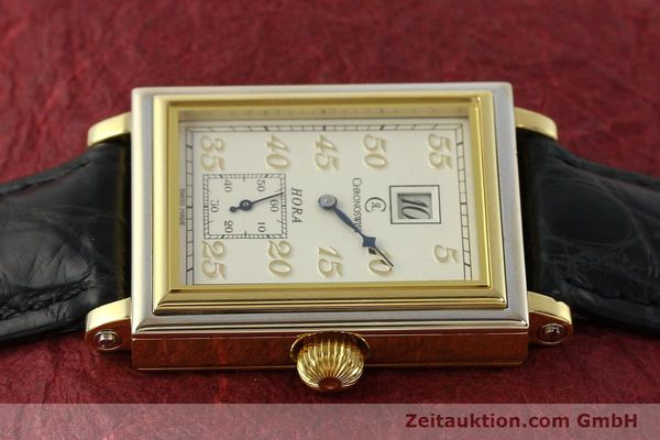 Used luxury watch Chronoswiss Hora 18 ct gold manual winding Ref. CH1351  | 150308 05