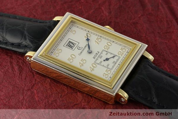Used luxury watch Chronoswiss Hora 18 ct gold manual winding Ref. CH1351  | 150308 14
