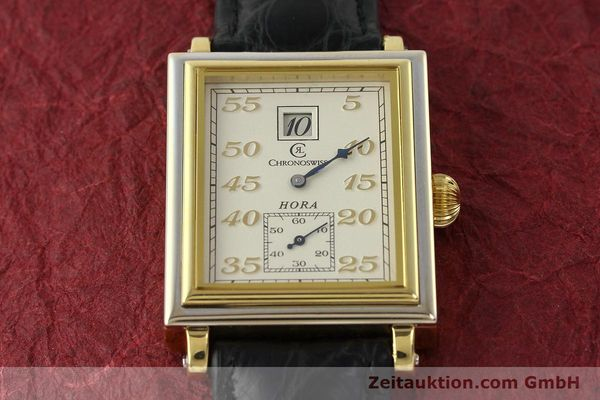 Used luxury watch Chronoswiss Hora 18 ct gold manual winding Ref. CH1351  | 150308 15