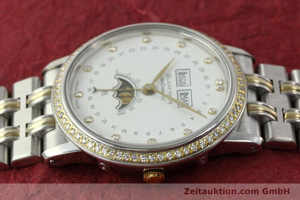 Used luxury watch Blancpain Villeret steel / gold automatic Kal. 6595  | 150309 05