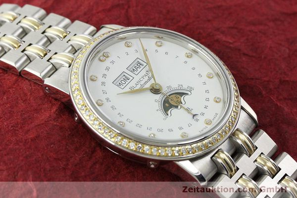Used luxury watch Blancpain Villeret steel / gold automatic Kal. 6595  | 150309 14