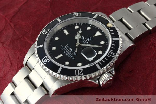 Used luxury watch Rolex Submariner steel automatic Kal. 3135 Ref. 16610  | 150310 01