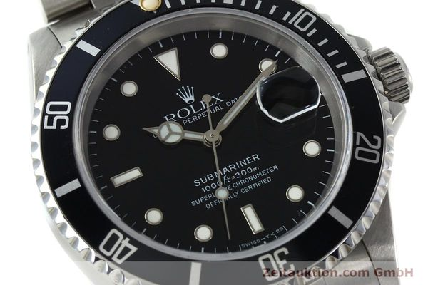 Used luxury watch Rolex Submariner steel automatic Kal. 3135 Ref. 16610  | 150310 02