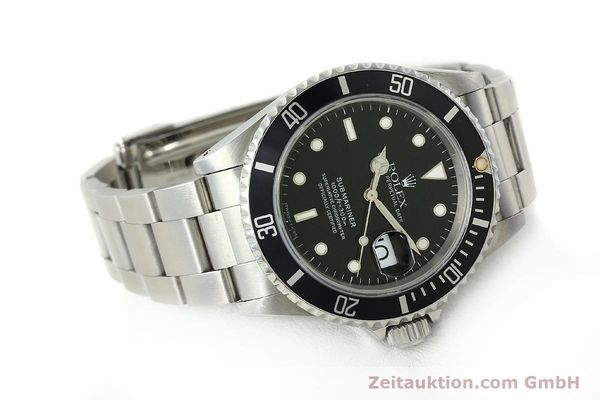 Used luxury watch Rolex Submariner steel automatic Kal. 3135 Ref. 16610  | 150310 03