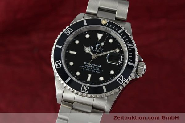 Used luxury watch Rolex Submariner steel automatic Kal. 3135 Ref. 16610  | 150310 04