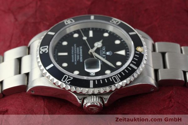 Used luxury watch Rolex Submariner steel automatic Kal. 3135 Ref. 16610  | 150310 05