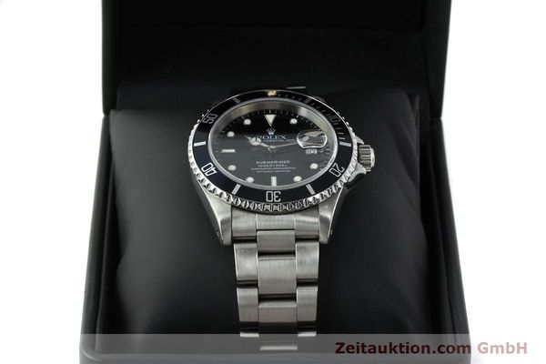 Used luxury watch Rolex Submariner steel automatic Kal. 3135 Ref. 16610  | 150310 07