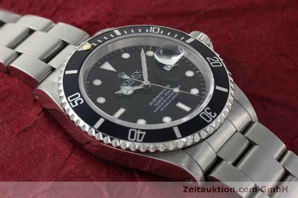 Used luxury watch Rolex Submariner steel automatic Kal. 3135 Ref. 16610  | 150310 15