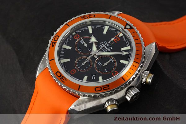 Used luxury watch Omega Seamaster chronograph steel automatic Kal. 3313 B  | 150311 01