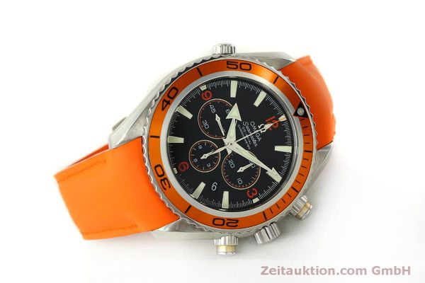 Used luxury watch Omega Seamaster chronograph steel automatic Kal. 3313 B  | 150311 03