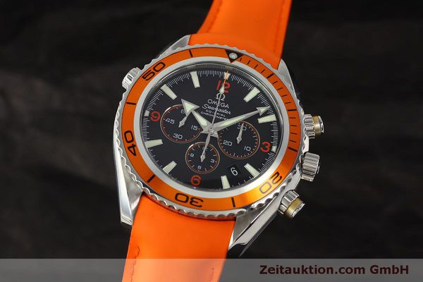 Used luxury watch Omega Seamaster chronograph steel automatic Kal. 3313 B  | 150311 04
