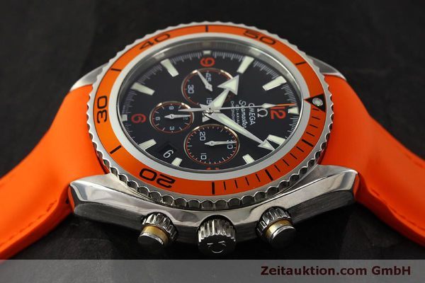 Used luxury watch Omega Seamaster chronograph steel automatic Kal. 3313 B  | 150311 05