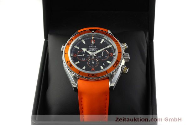 Used luxury watch Omega Seamaster chronograph steel automatic Kal. 3313 B  | 150311 07