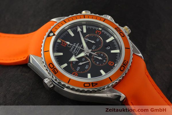 Used luxury watch Omega Seamaster chronograph steel automatic Kal. 3313 B  | 150311 16