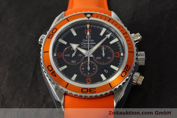 Used luxury watch Omega Seamaster chronograph steel automatic Kal. 3313 B  | 150311 17