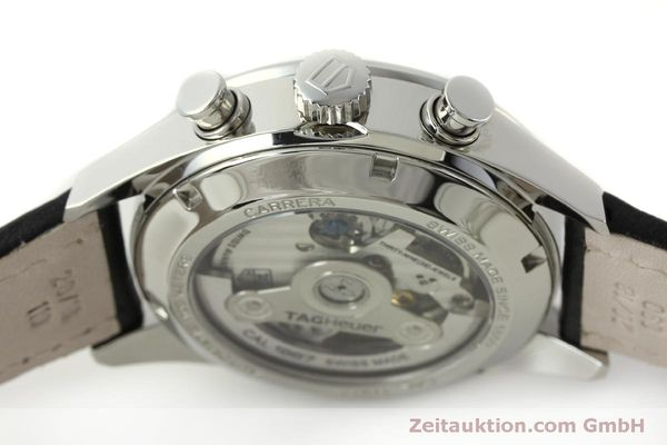 Used luxury watch Tag Heuer Carrera chronograph steel automatic Kal. 1887 Ref. RAAU4846  | 150313 08