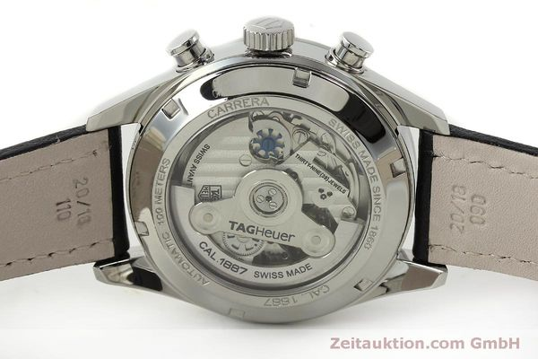 Used luxury watch Tag Heuer Carrera chronograph steel automatic Kal. 1887 Ref. RAAU4846  | 150313 09