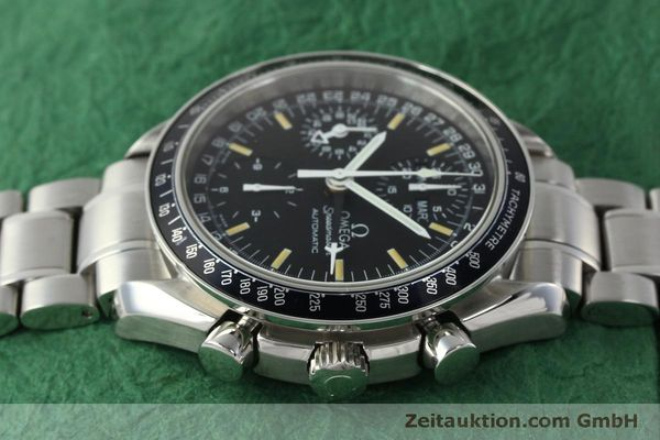 Used luxury watch Omega Speedmaster chronograph steel automatic Kal. 1151  | 150314 05