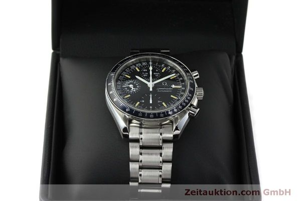 Used luxury watch Omega Speedmaster chronograph steel automatic Kal. 1151  | 150314 07