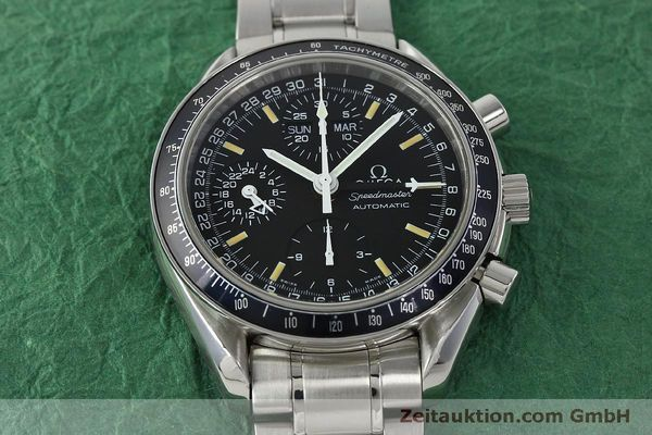 Used luxury watch Omega Speedmaster chronograph steel automatic Kal. 1151  | 150314 17
