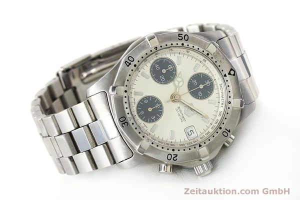 Used luxury watch Tag Heuer Professional chronograph steel automatic Kal. ETA 7750 Ref. K2110  | 150315 03