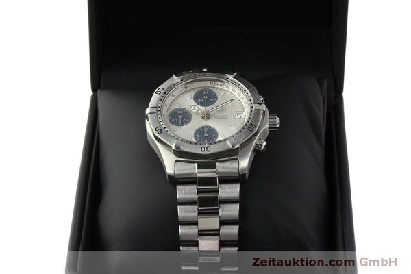 Used luxury watch Tag Heuer Professional chronograph steel automatic Kal. ETA 7750 Ref. K2110  | 150315 07