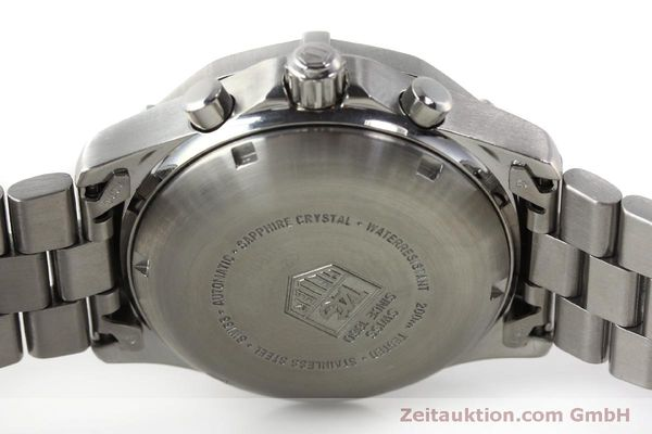 Used luxury watch Tag Heuer Professional chronograph steel automatic Kal. ETA 7750 Ref. K2110  | 150315 09