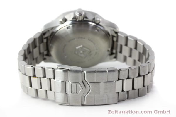 Used luxury watch Tag Heuer Professional chronograph steel automatic Kal. ETA 7750 Ref. K2110  | 150315 11