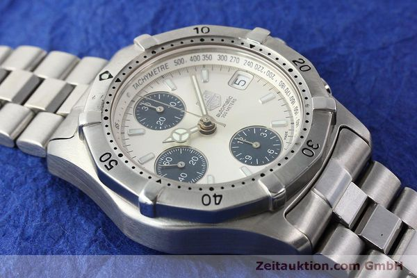 Used luxury watch Tag Heuer Professional chronograph steel automatic Kal. ETA 7750 Ref. K2110  | 150315 13