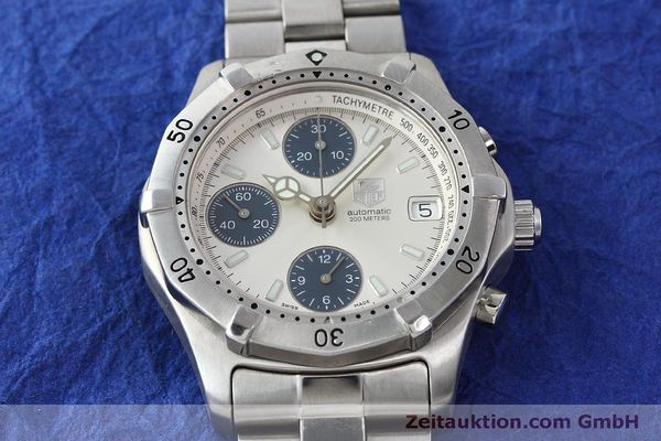 Used luxury watch Tag Heuer Professional chronograph steel automatic Kal. ETA 7750 Ref. K2110  | 150315 14