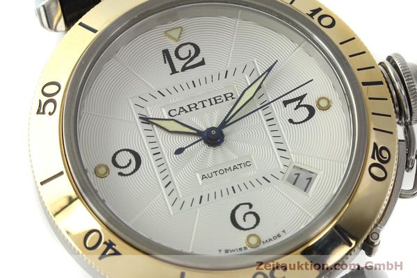 Used luxury watch Cartier Pasha steel / gold automatic Kal. 191  | 150317 02