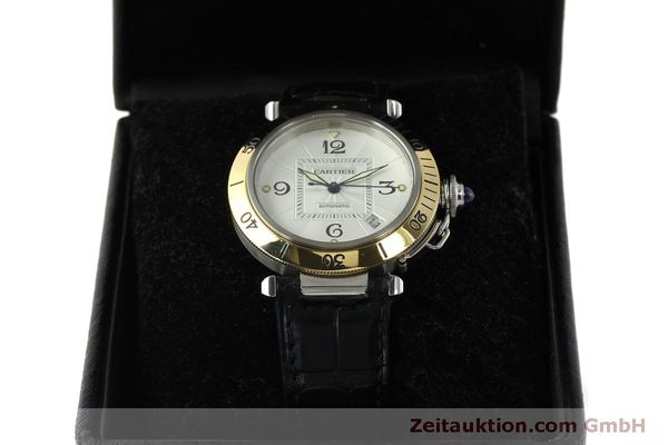 Used luxury watch Cartier Pasha steel / gold automatic Kal. 191  | 150317 07