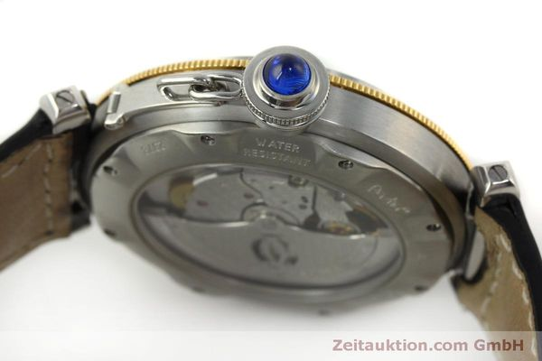 Used luxury watch Cartier Pasha steel / gold automatic Kal. 191  | 150317 08