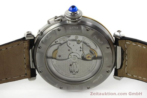 Used luxury watch Cartier Pasha steel / gold automatic Kal. 191  | 150317 09