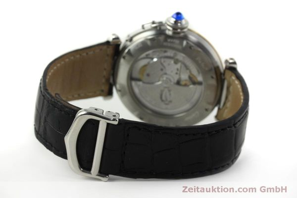 Used luxury watch Cartier Pasha steel / gold automatic Kal. 191  | 150317 11